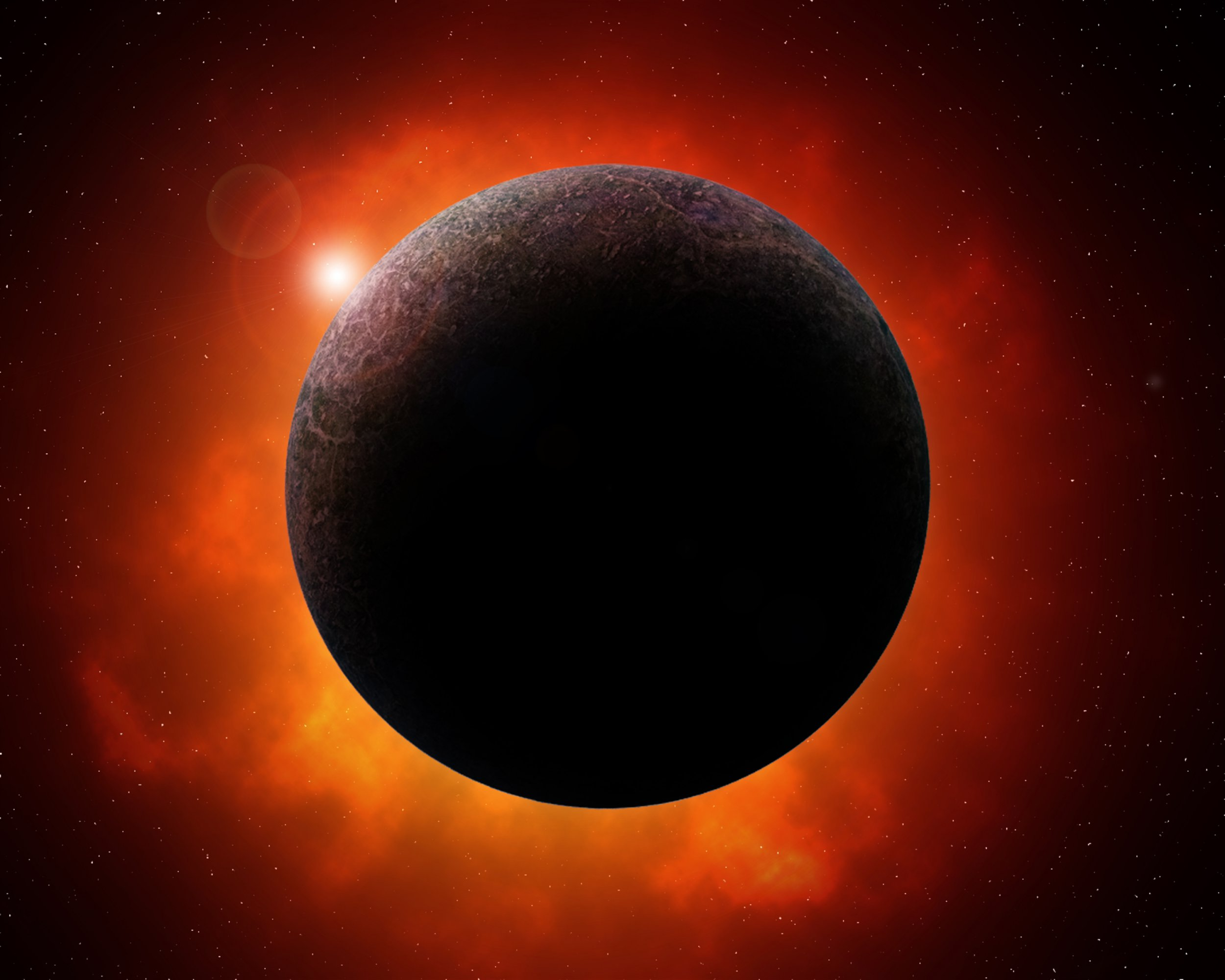 A large mystery planet on the edge of our solar system.