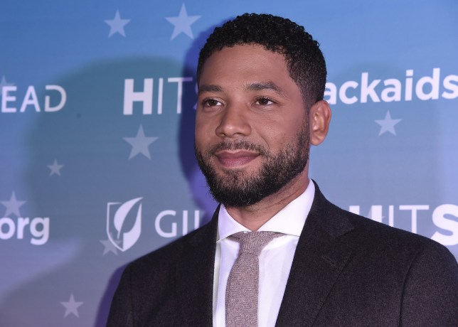Mandatory Credit: Photo by Scott Kirkland/REX/Shutterstock (10011522aw) Jussie Smollett The Black AIDS Insitute 2018 Hosts Heroes in The Struggle Gala, Los Angeles, USA - 01 Dec 2018
