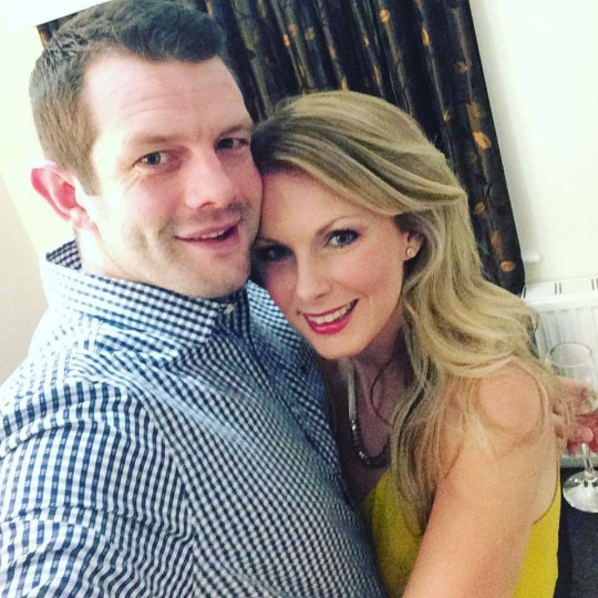 An obsessed husband posed as fake men on social media - in a desperate attempt to catch his estranged wife cheating. Paul Blake, 36, contacted his former partner, Rhian Blake, 50 times a day and used a location app to track her - despite their three-year marriage breaking down. The couple had been together for eight years but the relationship began to fail when Blake started abusing alcohol and cocaine. Pictured here are the couple in happier times. ? WALES NEWS SERVICE