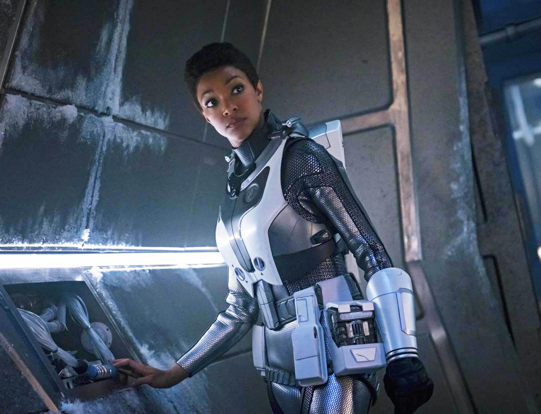 Has Sonequa Martin-Green just leaked the name of Patrick Stewart's Star Trek spin-off?