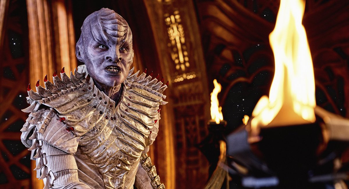 Star Trek: Discovery redesigned the Klingons for season 2 following fan backlash