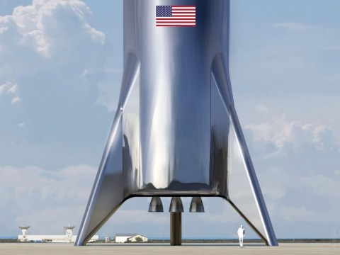 Elon Musk's impressive 'Starship' rocket was blown over by the wind
