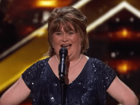 Who originally sung Susan Boyle's America's Got Talent song Wild Horses and when was it released?