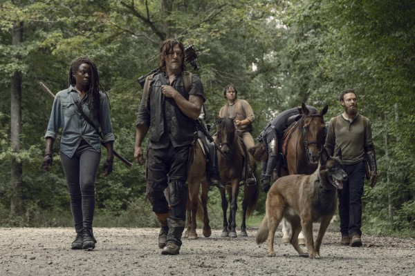 The Walking Dead midseason premiere review: A downbeat return of scattered satisfaction