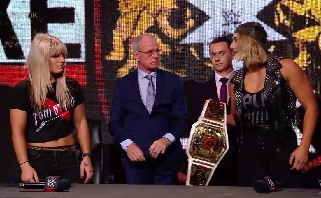 Rhea Ripley calls #WeSupportToniStorm hashtag 'pathetic' ahead of NXT UK title clash