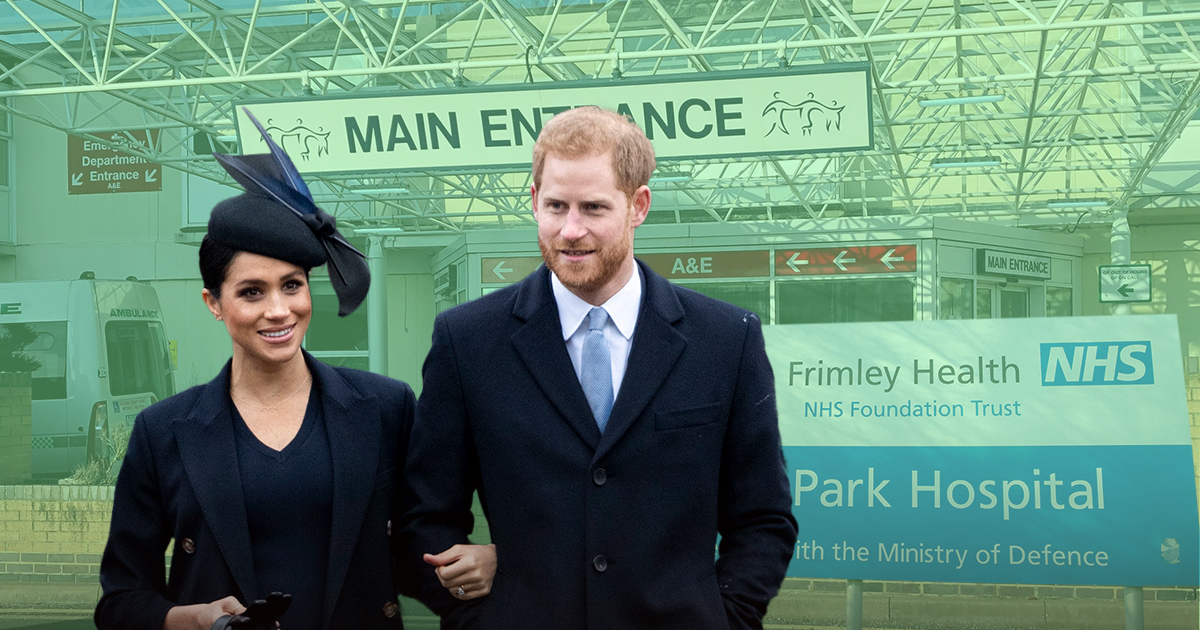 Meghan Markle 'to have baby on NHS not at private Lindo Wing where Kate gave birth'
