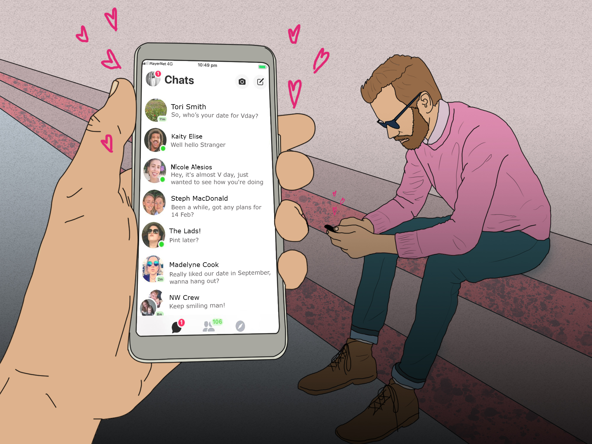 V-lationshipping is the dating trend where old flames reappear for Valentine's Day