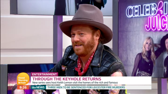 Keith Lemon confirmed Fearne Cotton's replacement has been picked (Picture: ITV)