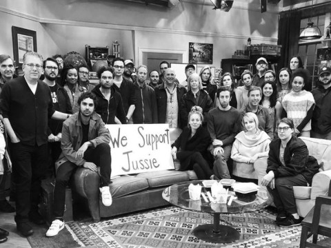 The Big Bang Theory's entire team share support for Jussie Smollett after brutal 'hate crime' attack