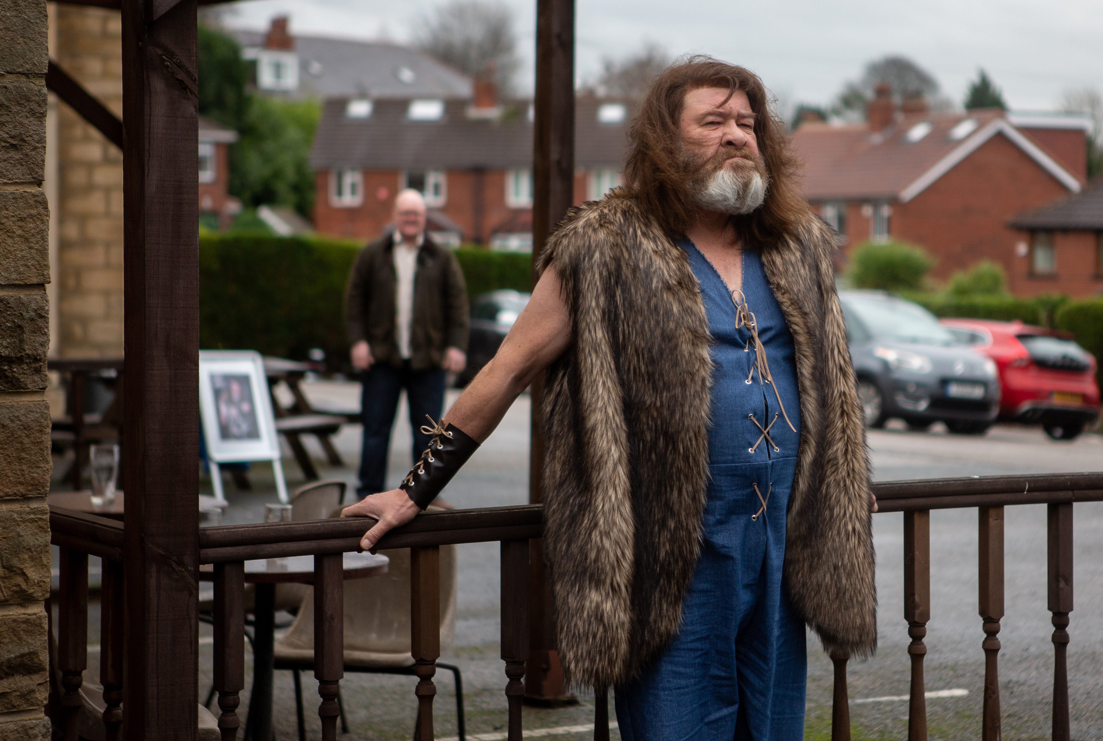 Who plays Bear Wolf in Emmerdale and is he Paddy's dad?