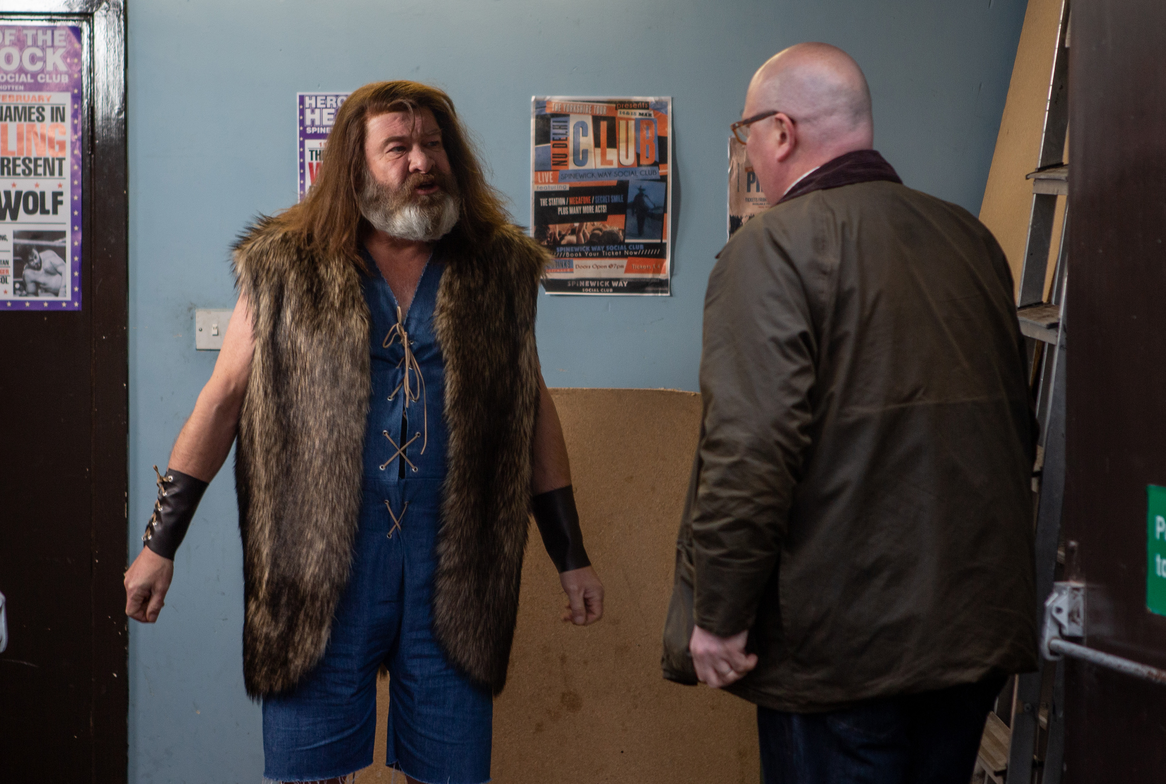 Emmerdale spoilers: Paddy Kirk comes face to face with his 'dad' Bear Wolf