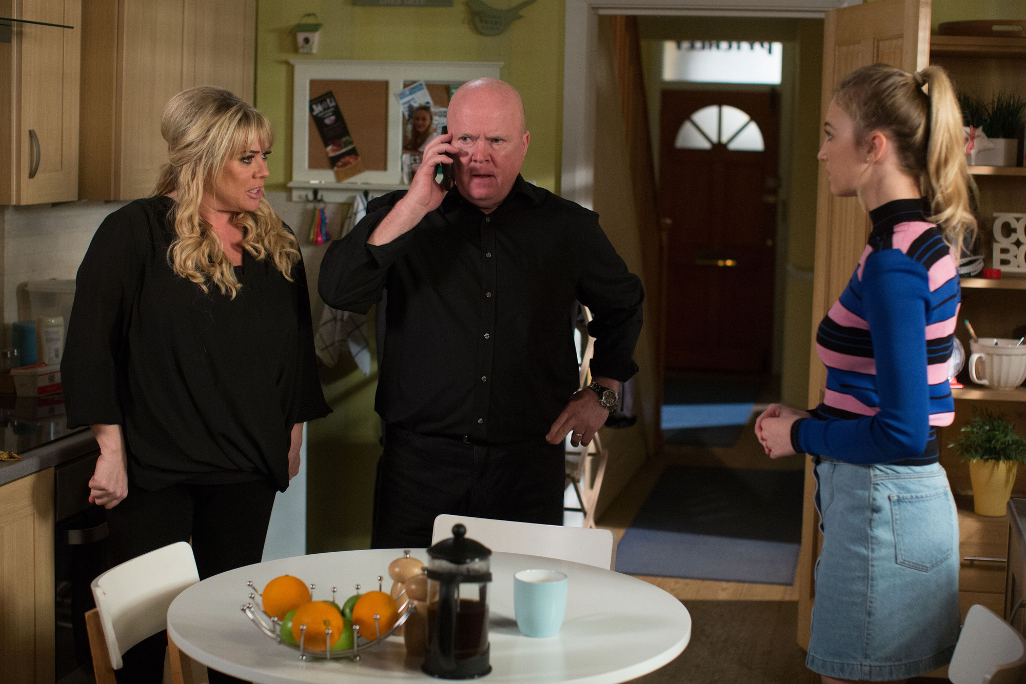 Louise tells Phil she is pregnant in EastEnders