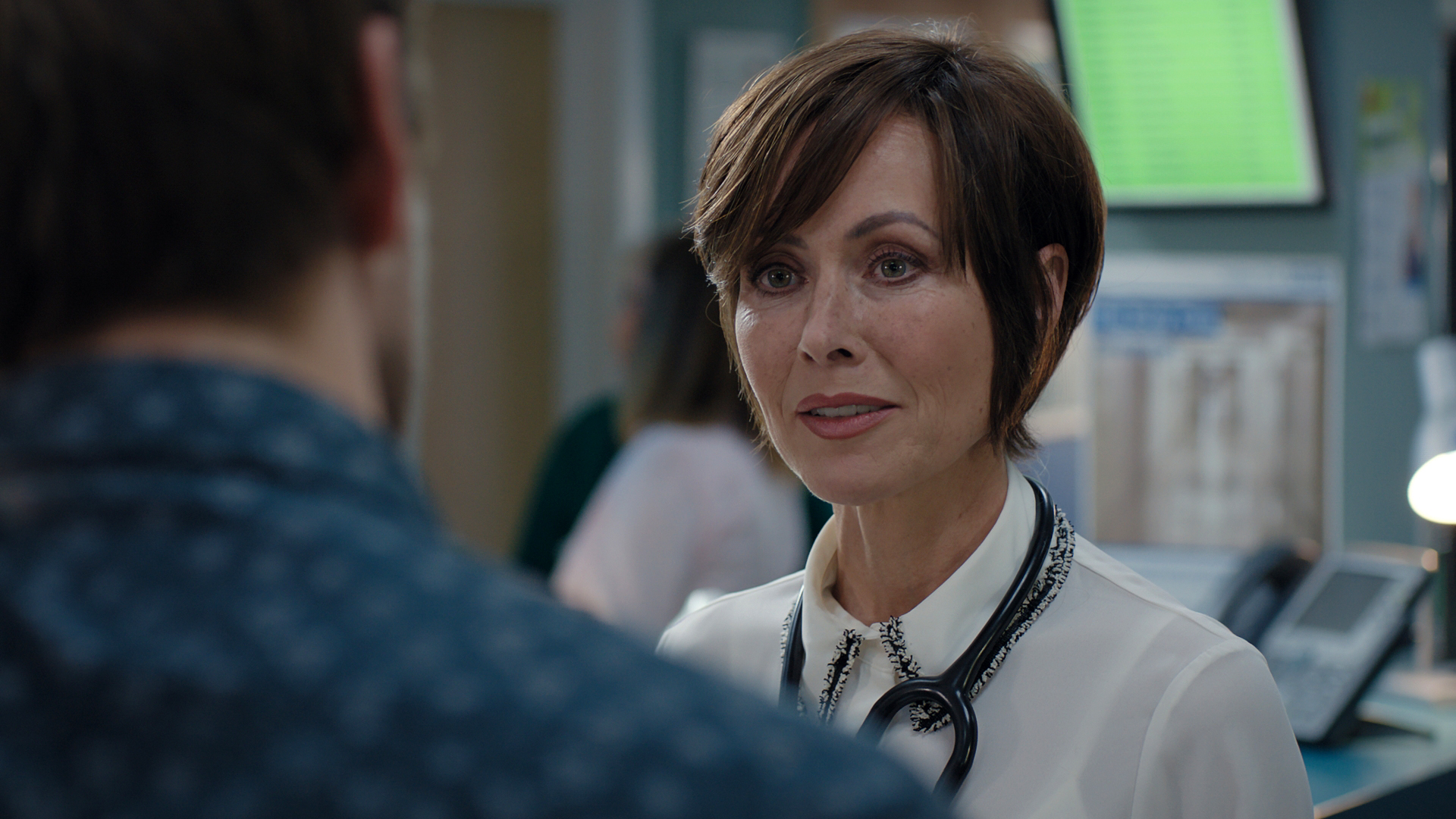 Casualty clarifies Connie Beauchamp exit rumours after Amanda Mealing tweet