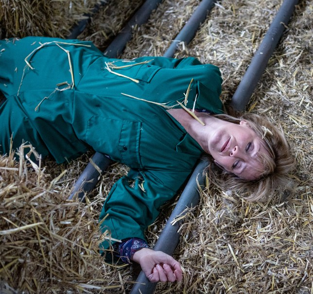 Will Rhona survive the farm accident?