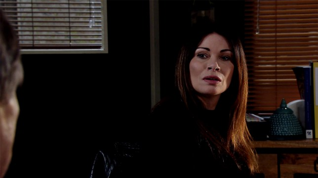Roy wants answers from Carla in Coronation Street