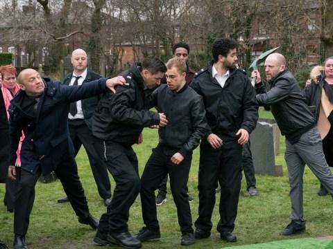 Coronation Street spoilers: Shona Ramsey and Billy Mayhew caught in violent graveyard brawl