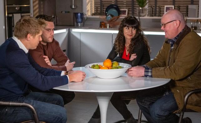 Robert and Aaron discuss their surrogacy in Emmerdale