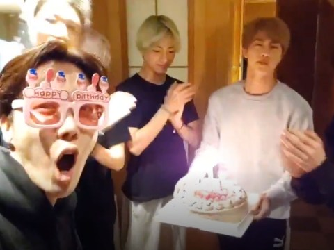 BTS surprises J-Hope at midnight with cake as ARMY mobilise and bombard him with birthday wishes