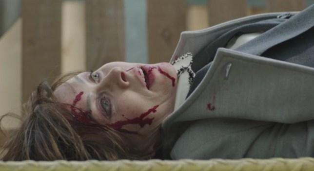 Who attacked Connie in Casualty?