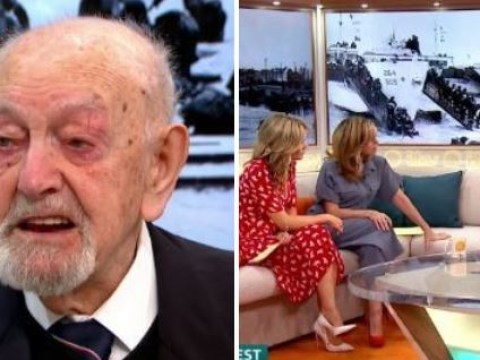 D-Day hero breaks down as he discusses horrors of war 75 years on