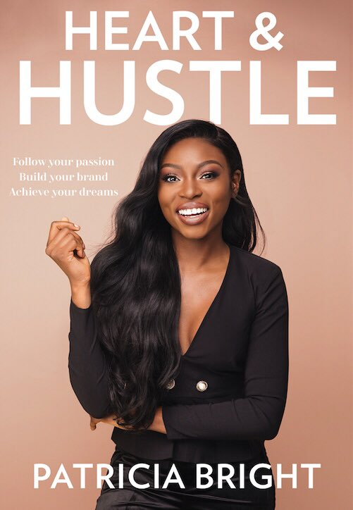 Cover of Patricia Bright's first book Heart & Hustle