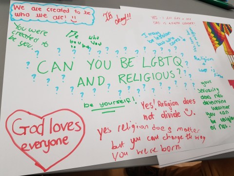 I'm Muslim and LGBT, and I teach children it's OK to be both