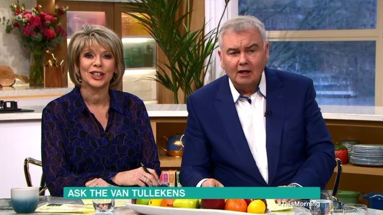 Panic as viewers think they hear caller tell Eamonn Holmes to 'f**k off'