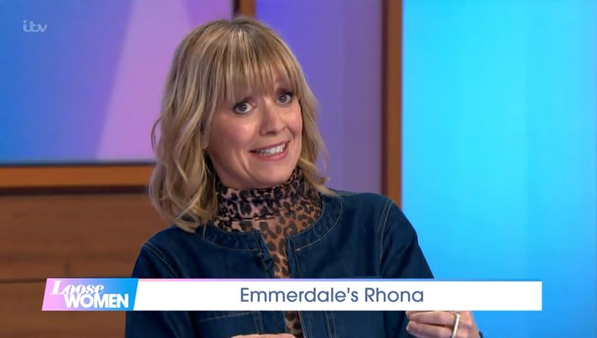 Emmerdale spoilers: Zoe Henry reveals Rhona Goskirk's menopause turmoil after operation