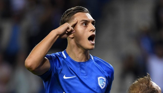 Genk winger Leandro Trossard is wanted by Arsenal