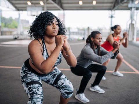 Daily Fitness Challenge: How long can you hold a squat?