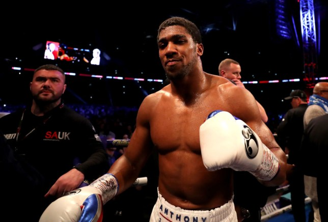 Anthony Joshua confirms next fight is against Jarrell Miller