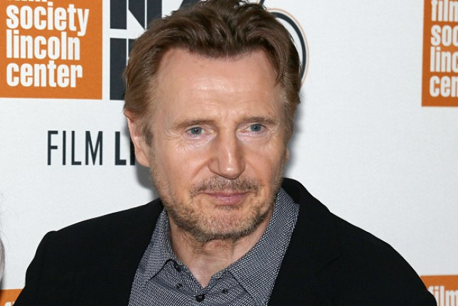Actor Liam Neeson who has become involved in a racism row following an interview in The Independent