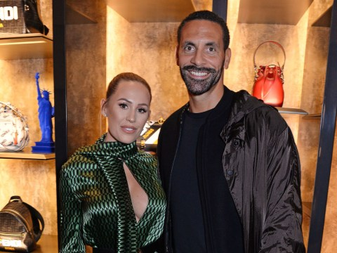Rio Ferdinand's fiance Kate Wright lashes out against haters over engagement