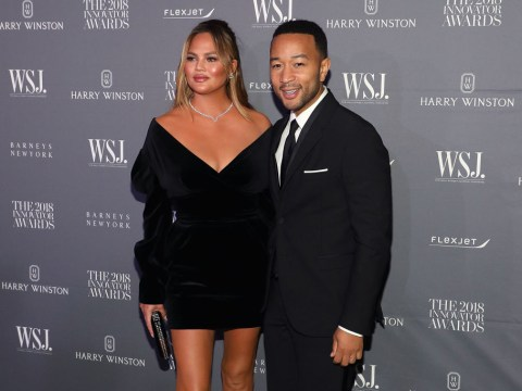 Chrissy Teigen trolls John Legend by making jokes about cheating on him