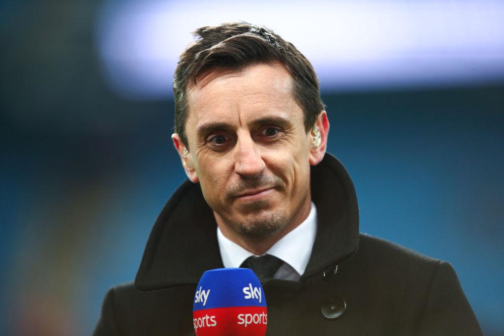 Gary Neville says Virgil van Dijk was a 'joke' In Liverpool's draw against Everton