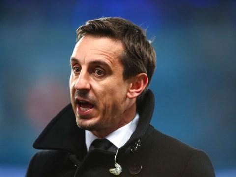 Gary Neville predicts Maurizio Sarri's Chelsea future following defeat to Man City