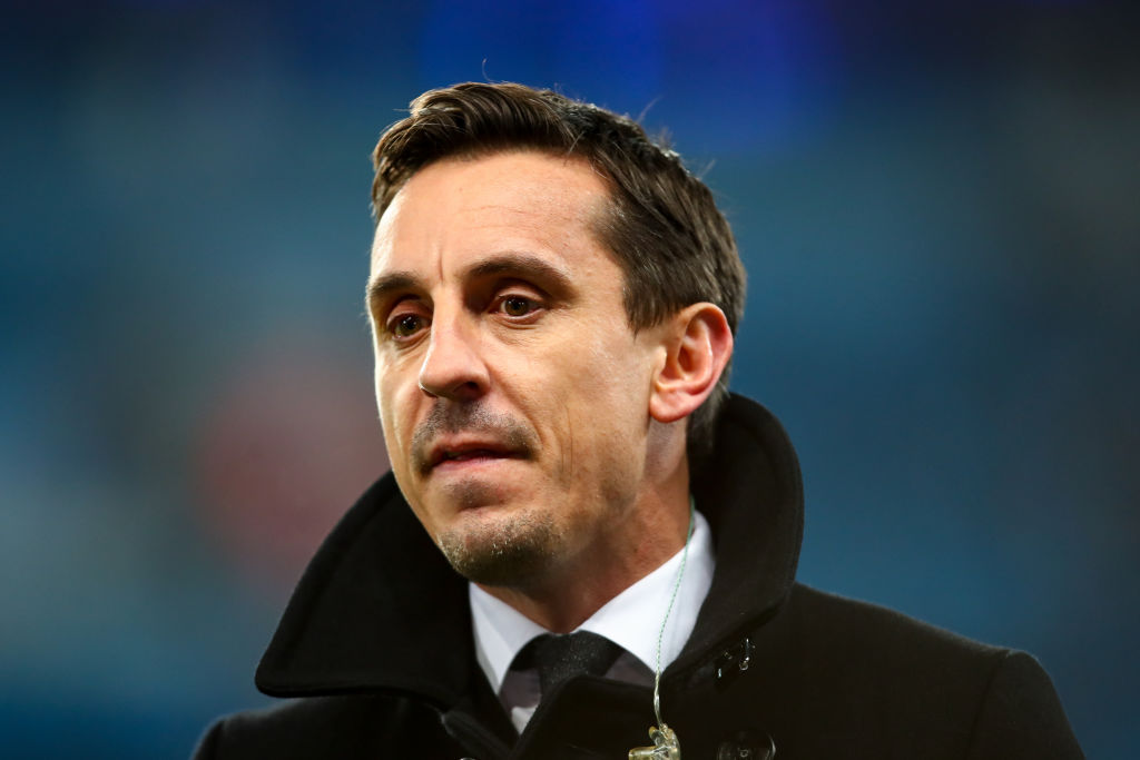 Former Manchester United defender Gary Neville on the club's lack of transfer activity