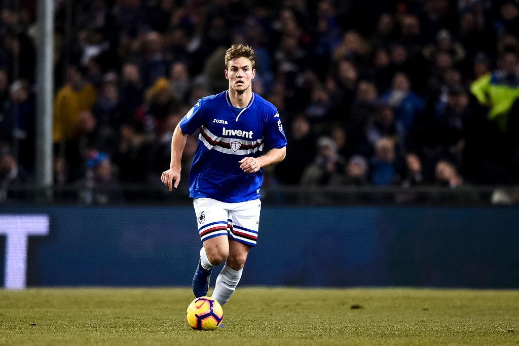 Tottenham in talks to sign Joachim Andersen from Sampdoria ahead of summer switch