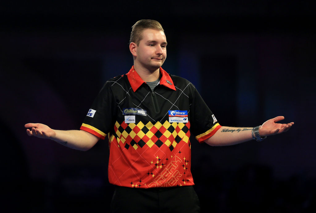 'Curious' Dimitri van Den Bergh knows what it takes to beat Premier League opponent James Wade