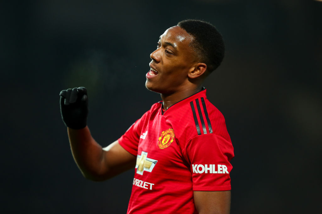 Didier Deschamps declares 'Anthony Martial is back' and aims dig at Jose Mourinho over form
