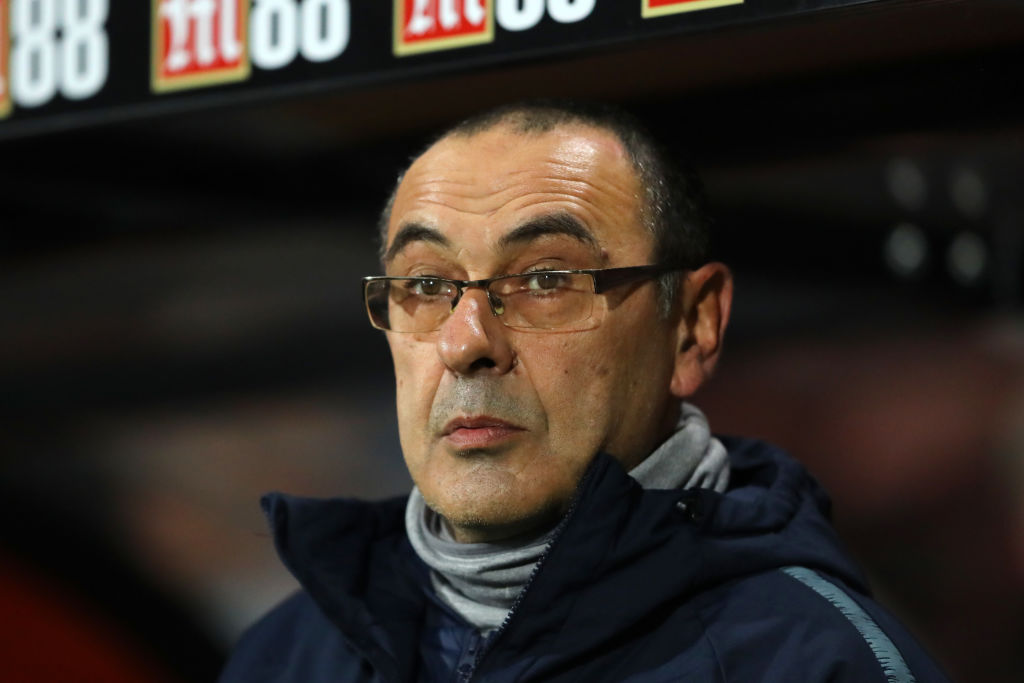 Maurizio Sarri fires warning to Tottenham after Chelsea's win against Fulham