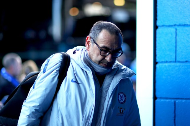 Maurizio Sarri has effectively told Chelsea's board to back him or sack him
