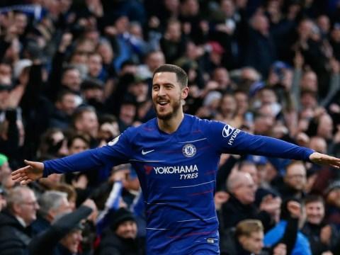 Eden Hazard makes Gonzalo Higuain prediction after Chelsea thrash Huddersfield