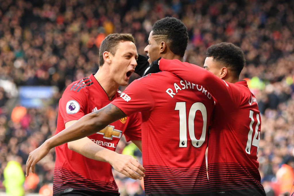 Manchester United hold off Leicester City as Ole Gunnar Solskjaer racks up fifth straight away win
