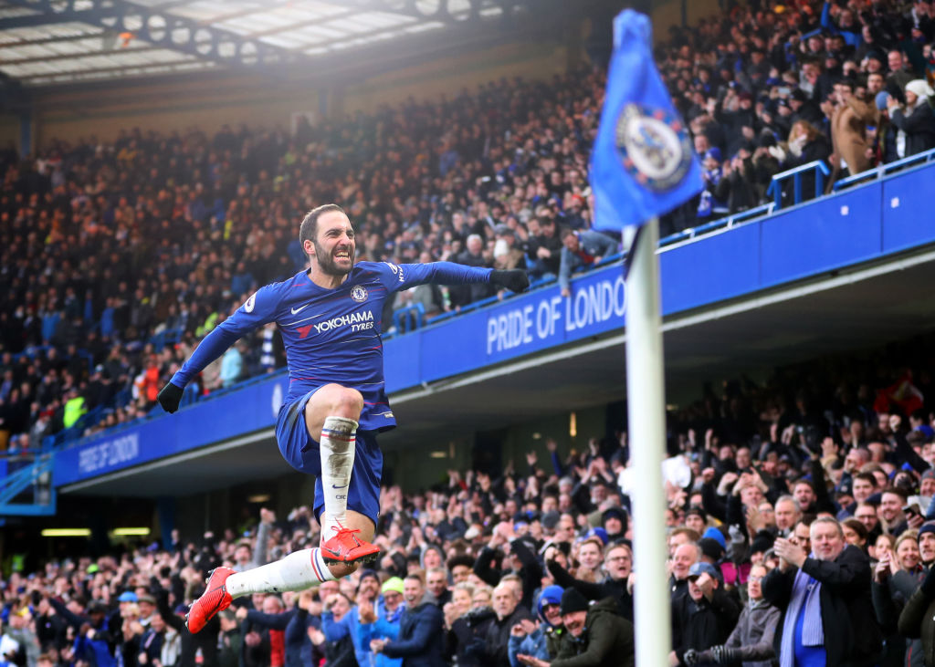 Eden Hazard expects to do 'something great' with Chelsea striker Gonzalo Higuain