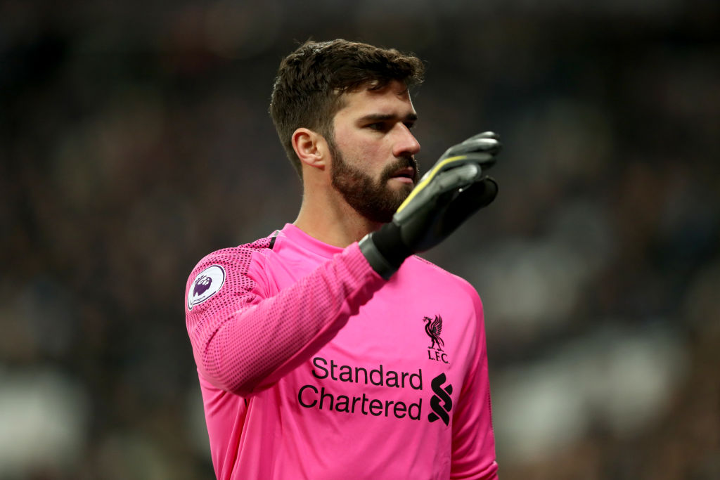 Alisson sends Premier League title warning to Manchester City after Liverpool blip