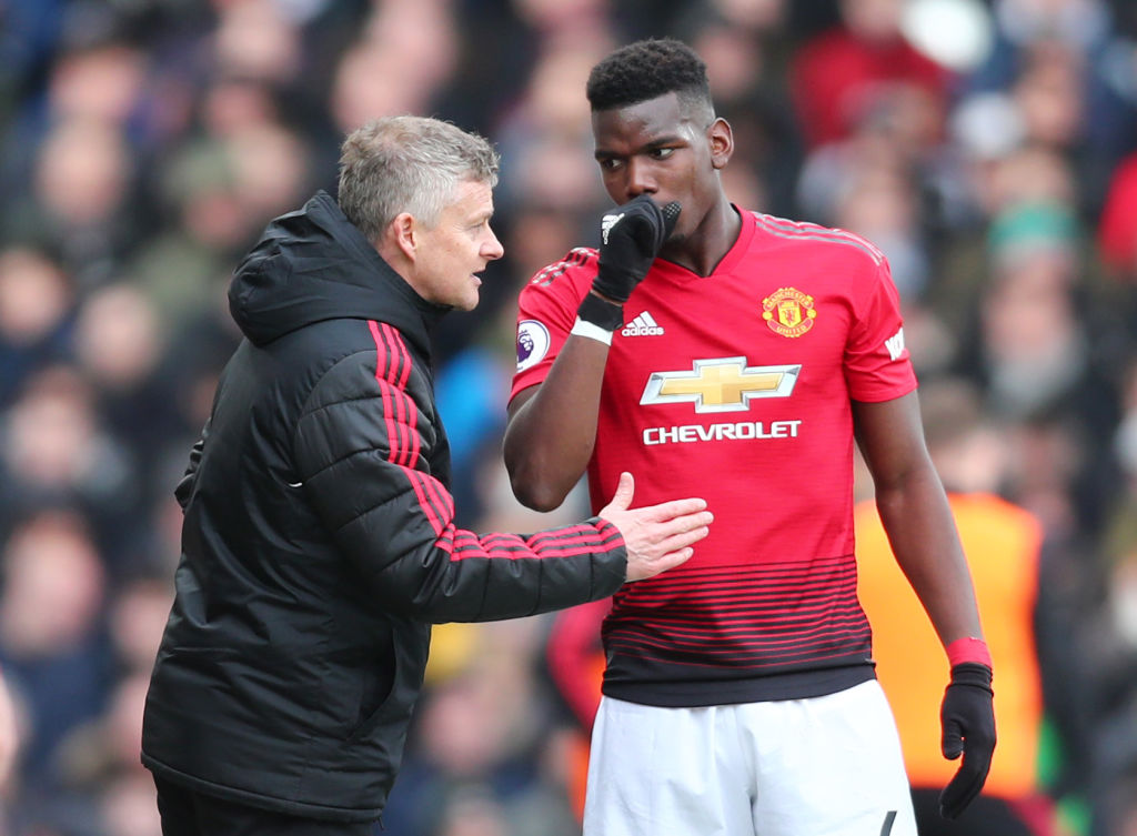 What Ole Gunnar Solskjaer told Paul Pogba in private meeting after Real Madrid comments