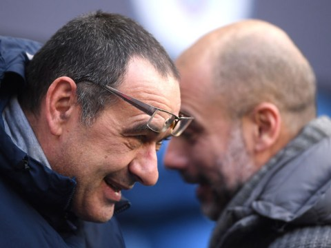 Maurizio Sarri urges Chelsea to show the same patience Manchester City did with Pep Guardiola