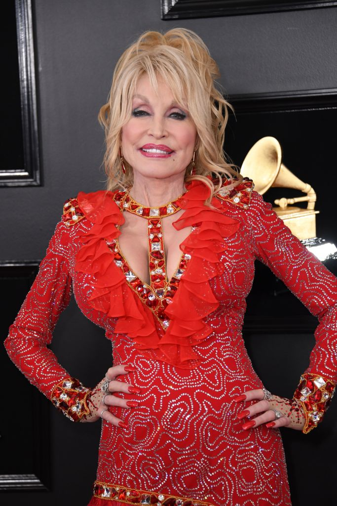 country music star and actress dolly parton