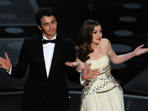 Anne Hathaway assures everyone the Oscars can't get worse than her 2011 hosting gig